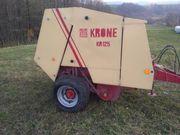 рулонный пресс-подборщик KRONE  KR 125